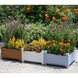 Stackable Square Assemble Planter Flower Pot of Raised Garden Bed
