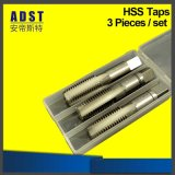 Factory Hot Selling Straight Flute HSS Hand Tap Set