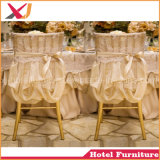 Gold Metal Plastic Hotel Wedding Banquet Chiavari Tiffany Chair