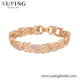 74991 Fashion 18K Gold Costume Jewelry Women Bracelet with Stone