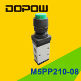 M5PP210-08 Latching Manual Mechanical Valve 2 Position 5 Way