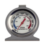 Food Meat Temperature Stand up Dial Oven Thermometer Stainless Steel Gauge Gage Large Diameter Dial Kitchen Baking Supplies
