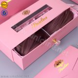 Sun Nature Luxury Custom Human Hair Extension Packaging Box with High Quality