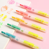 Factory Direct Price Discount Fruit Fluorescent Pen School Office Stationery