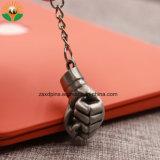 China Supplier Silver Metal Hand Keychain
