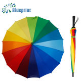 Hot Sales Semi Automatic Rainbow Wholesale Low Price Colorful Umbrellas Price