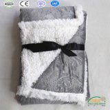 Customize Super Cute Small Size Sherpa Blanket