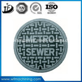 Ductile Iron Resin Sand Casting Manhole Cover Frame with Coating