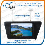 "7"" Wireless Fpv LCD Monitor Built-in 5.8g Dual Receiver"