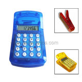 Mini Portable Clip Shape Mini Cheap Promotional Gift 8digits Calculator