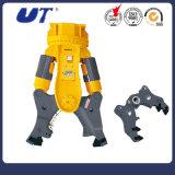 Excavator Parts Rotary Hydraulic Steel Cutter Scissors