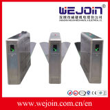 Wholesale 304 Stainless Steel Flap Barrier Turnstile Gate with RFID Card for Subway