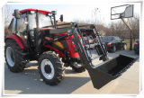 110HP&120HP 4WD Tractor with 4 in 1 Front Loader