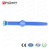 Rfidhy Ti2048 Chip PVC NFC Wristband for Water Park
