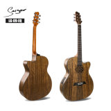 China Electro Musical Instruments 40 Inch Cutaway Semi Acoustic Electric Guitar