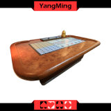Macau Standard Casino Sic Bo Luxury Casino Craps Poker Table Electronic Poker Table for Casino Club Ym-Si03