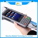 Android 4.4 OS POS Terminal with Keyboard IC Card Reader Magnetic Card Reader RFID Card Reader GSM/3G WiFi Bluetooth GPS Camera MP8000