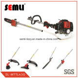 4 in 1 Multi-Function Gasoline Brush Cutter Grass Trimmer with 3t Blade and Trimmer Line