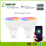 5W MR16 Tuya APP Controlled Smart WiFi Bulb for Home Lighting Compatible with Alexa