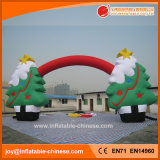 Inflatable Christmas Santa & Christmas Tree Arch Decoration (H1-200)