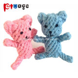 Dog Supply Chewing Toy Bear Cotton Rope Teething Pet Toys