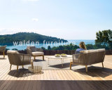 2018 Walden Outdoor Furniture/Rope Weaving Furniture/ Wood Lounge Sofa