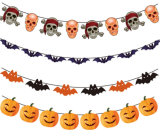 Wholesale Garland Happy Birthday Paper Banner for Party Decoration