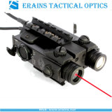 New Military Standard Tactical LED Light with Red Laser Sight Combo (FDA certified)