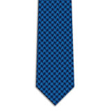 Wholesale Houndstooth Pattern Woven Super Poly Microfiber Fabric for Neckties