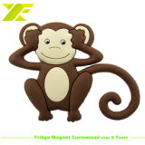 Cheap Custom Polyresin PVC Cartoon Monkey Fridge Magnet (FM06-C)