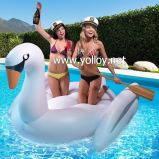 Inflatable Giant Swimming Swan Flamingo Floating Pool Toys