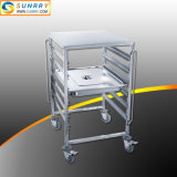 304 Grade Stainless Steel Bakery Tray Trolley with Good Price