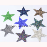 Hotfix Beaded Star Crystal Iron on Patches Clothes Decoration Transfer