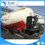Steel Tanker Cement Bulk Carrier Trailer/Powder Material Tank Semi Trailer