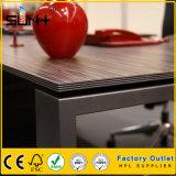 Factory Furniture Rectangle Ceramic Metal Dining Table