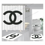 Custom Print Bathroom Rugs Carpets Anti Slip Toilet Bath Mat