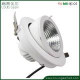 Adjustable Downlight Rotating Trunk Spot Light Lamp Gimbal Direction Adjustable LED Ceiling Light