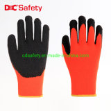 10g Acrylic Wool Ring Latex Rubber Crinkle Industrial Work Safety Gloves