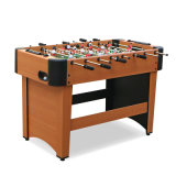 Popular Modern Design Small Size Wooden Color Soccer Table Price