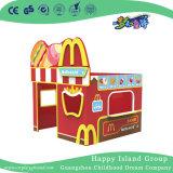 Indoor Children Dollhouse Mcdonald's Shaped for Kids (HJ-8402)