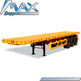 Factory Direct Hot Sale 40 FT Flatbed Container Semi Trailer/Truck Trailer