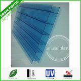 Hot Sell Sabic Lexan Plastic Blue # Triple Wall Polycarbonate Sheet