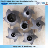 Stainless Steel Durco Mark 3 Group 2 Pump Impeller by Investment Casting