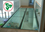 10+1.52+10mm Safety Tempered Laminated Glass Floor