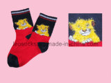 2016 Lovely Cartoon Terry Tube Socks for Children Kids