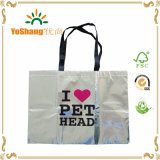Promotion Top Grade Silver Metallic Non-Woven Bag for Wholesales