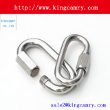 Rigging Hardware Stainless Steel Safety Carabiner Steel Spring Snap Hook