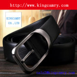 Custom Logo Real Leather Belt with Alloy Buckles