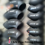 A234 Wpb Pipe Fitting Elbow, Carbon Steel Sch40 90 Degree Pipe Elbows
