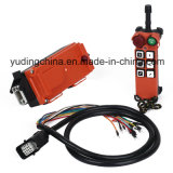 Hy Crane Wire Rope Heavy Duty Building Material Lift Winch Wireless Remote Control